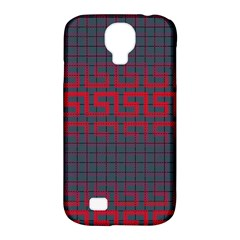 Abstract Tiling Pattern Background Samsung Galaxy S4 Classic Hardshell Case (pc+silicone)
