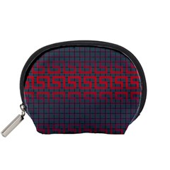 Abstract Tiling Pattern Background Accessory Pouches (small)