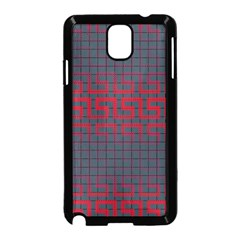 Abstract Tiling Pattern Background Samsung Galaxy Note 3 Neo Hardshell Case (black)