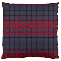 Abstract Tiling Pattern Background Large Flano Cushion Case (One Side)