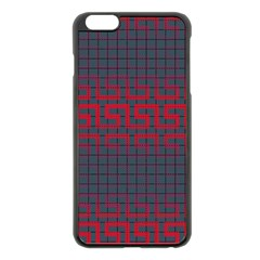 Abstract Tiling Pattern Background Apple Iphone 6 Plus/6s Plus Black Enamel Case