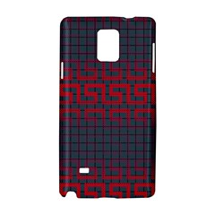Abstract Tiling Pattern Background Samsung Galaxy Note 4 Hardshell Case