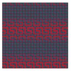 Abstract Tiling Pattern Background Large Satin Scarf (square)