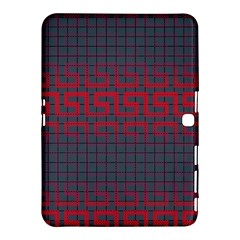 Abstract Tiling Pattern Background Samsung Galaxy Tab 4 (10.1 ) Hardshell Case
