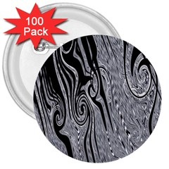 Abstract Swirling Pattern Background Wallpaper 3  Buttons (100 Pack)