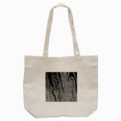 Abstract Swirling Pattern Background Wallpaper Tote Bag (Cream)