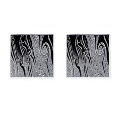 Abstract Swirling Pattern Background Wallpaper Cufflinks (square)