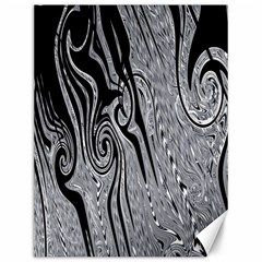 Abstract Swirling Pattern Background Wallpaper Canvas 12  x 16