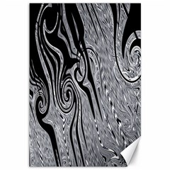 Abstract Swirling Pattern Background Wallpaper Canvas 12  X 18