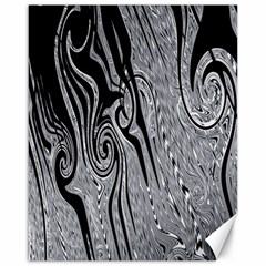 Abstract Swirling Pattern Background Wallpaper Canvas 16  x 20