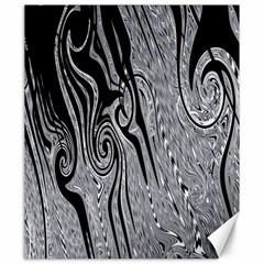 Abstract Swirling Pattern Background Wallpaper Canvas 20  X 24