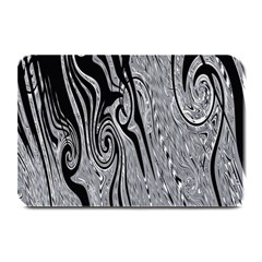 Abstract Swirling Pattern Background Wallpaper Plate Mats