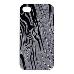 Abstract Swirling Pattern Background Wallpaper Apple iPhone 4/4S Hardshell Case