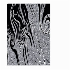 Abstract Swirling Pattern Background Wallpaper Large Garden Flag (two Sides)