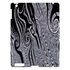 Abstract Swirling Pattern Background Wallpaper Apple iPad 3/4 Hardshell Case