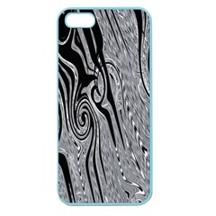 Abstract Swirling Pattern Background Wallpaper Apple Seamless Iphone 5 Case (color)