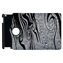 Abstract Swirling Pattern Background Wallpaper Apple iPad 2 Flip 360 Case