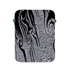 Abstract Swirling Pattern Background Wallpaper Apple iPad 2/3/4 Protective Soft Cases