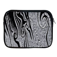 Abstract Swirling Pattern Background Wallpaper Apple iPad 2/3/4 Zipper Cases
