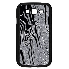 Abstract Swirling Pattern Background Wallpaper Samsung Galaxy Grand Duos I9082 Case (black)