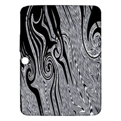 Abstract Swirling Pattern Background Wallpaper Samsung Galaxy Tab 3 (10.1 ) P5200 Hardshell Case