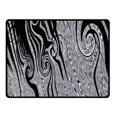 Abstract Swirling Pattern Background Wallpaper Double Sided Fleece Blanket (Small)