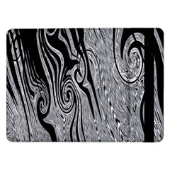 Abstract Swirling Pattern Background Wallpaper Samsung Galaxy Tab Pro 12 2  Flip Case
