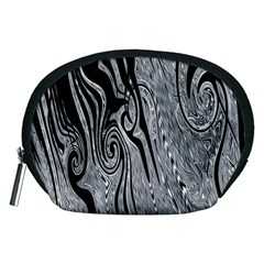 Abstract Swirling Pattern Background Wallpaper Accessory Pouches (medium)