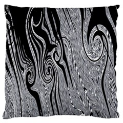Abstract Swirling Pattern Background Wallpaper Standard Flano Cushion Case (One Side)