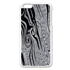 Abstract Swirling Pattern Background Wallpaper Apple Iphone 6 Plus/6s Plus Enamel White Case