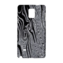 Abstract Swirling Pattern Background Wallpaper Samsung Galaxy Note 4 Hardshell Case