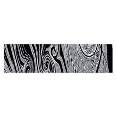 Abstract Swirling Pattern Background Wallpaper Satin Scarf (Oblong)