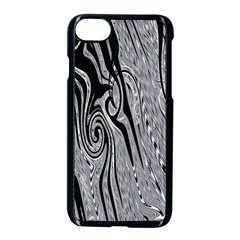 Abstract Swirling Pattern Background Wallpaper Apple Iphone 7 Seamless Case (black)