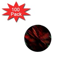 Abstract Green And Red Background 1  Mini Buttons (100 pack)