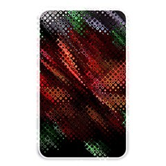 Abstract Green And Red Background Memory Card Reader