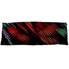 Abstract Green And Red Background Body Pillow Case Dakimakura (Two Sides)