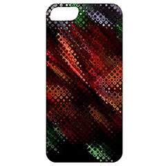 Abstract Green And Red Background Apple iPhone 5 Classic Hardshell Case