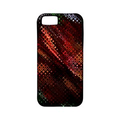Abstract Green And Red Background Apple Iphone 5 Classic Hardshell Case (pc+silicone)