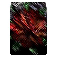 Abstract Green And Red Background Flap Covers (L)