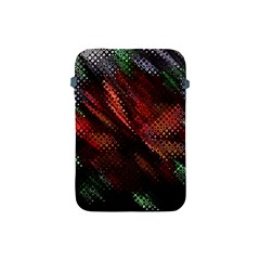 Abstract Green And Red Background Apple iPad Mini Protective Soft Cases