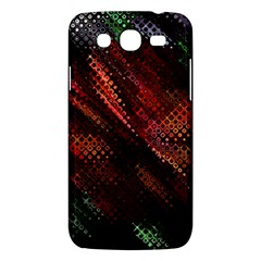 Abstract Green And Red Background Samsung Galaxy Mega 5.8 I9152 Hardshell Case