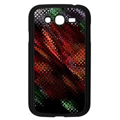 Abstract Green And Red Background Samsung Galaxy Grand DUOS I9082 Case (Black)