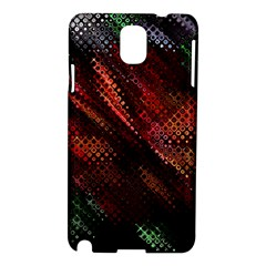 Abstract Green And Red Background Samsung Galaxy Note 3 N9005 Hardshell Case