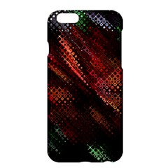 Abstract Green And Red Background Apple Iphone 6 Plus/6s Plus Hardshell Case