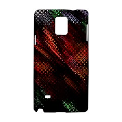Abstract Green And Red Background Samsung Galaxy Note 4 Hardshell Case