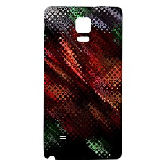 Abstract Green And Red Background Galaxy Note 4 Back Case