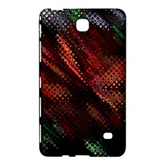 Abstract Green And Red Background Samsung Galaxy Tab 4 (7 ) Hardshell Case