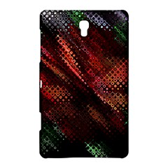 Abstract Green And Red Background Samsung Galaxy Tab S (8 4 ) Hardshell Case