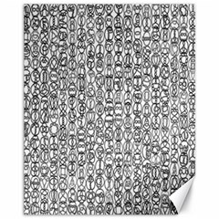 Abstract Knots Background Design Pattern Canvas 11  x 14