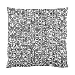 Abstract Knots Background Design Pattern Standard Cushion Case (one Side)